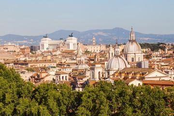 Blick über die Altstadt von Rom