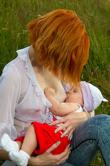 nursing mother nature