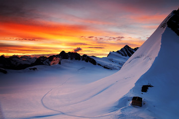 Mountain landscape, Bener Oberland, Switzerland