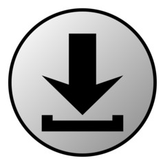 Arrow download button
