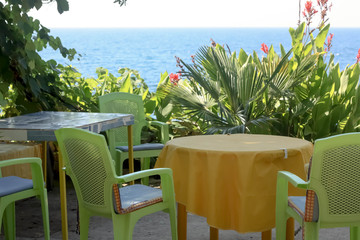 Summergarden with Sea View