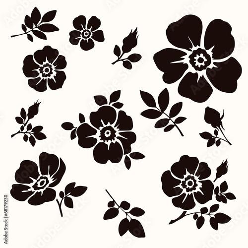Flower decorative