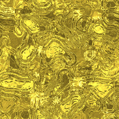 Melt metal fluid seamless generated hires texture