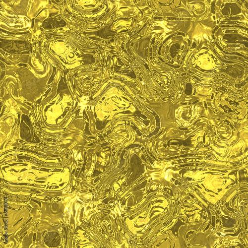 Leinwanddruck Bild Melt metal fluid seamless generated hires texture