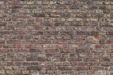 Wall of brick texture