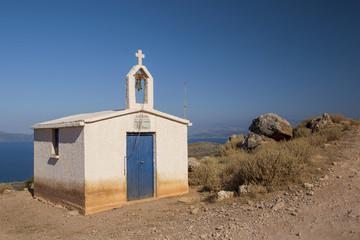 old church near Balos bay on Crete
