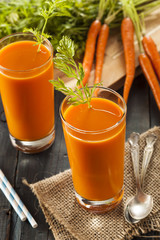 Organic Raw Carrot Juice