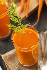 Organic Raw Carrot Juice