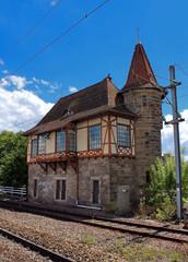 ancienne gare Krimmeri-Meinau à Strasbourg