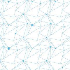 Abstract seamless vector pattern, triangle structure