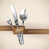 Restaurant Catering Gastroservice Marriage Logo