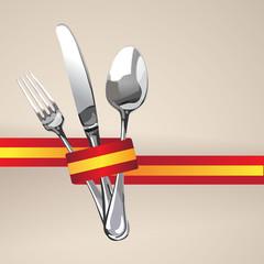 Spanish Restaurant Catering Gastroservice Logo