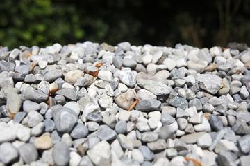 Gray gravel