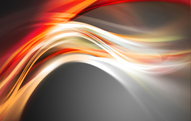 Abstract Fire Passion Waves