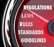 Regulations Speedometer Gauge Measuring Rule Law Compliance