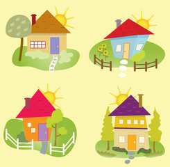 Summer Home Icons
