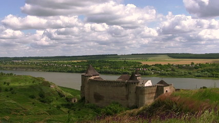 Old fortress at the river