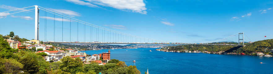 the bridge on Bosphorus