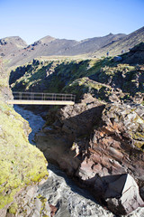 Laugavegur Trail Foot Bridge