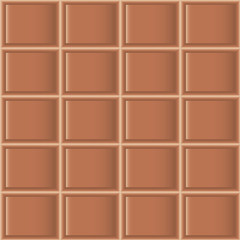 Chocolate tiles seamless texture