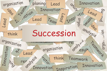 succession on the paper