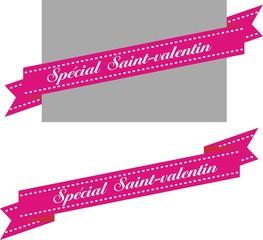 banderole spécial saint-valentin