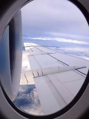 In volo...