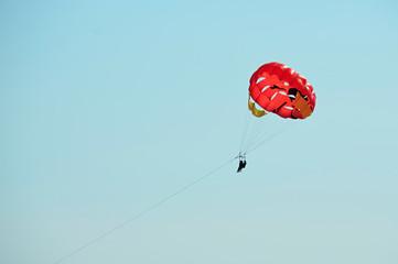 parasailing photo