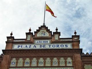 Facciata della Plaza de Toros de Las Ventas