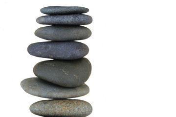 Zen Stones Isolated