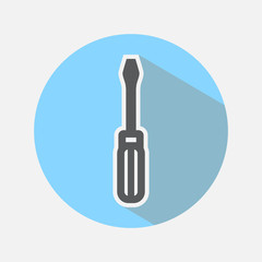 Screwdriver Color Icon