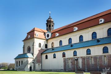 Basilica of Saint Cyrillus and Methodius in Velehrad village