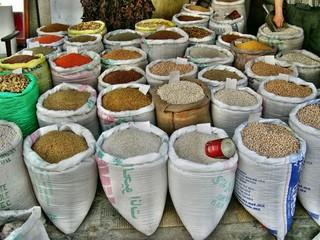 Bazar di Biserta in Tunisia