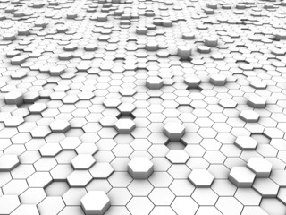 Hexagonal background