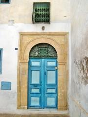 Portone a Qayrawan in Tunisia