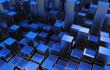 Blue Metallic Growing Bars