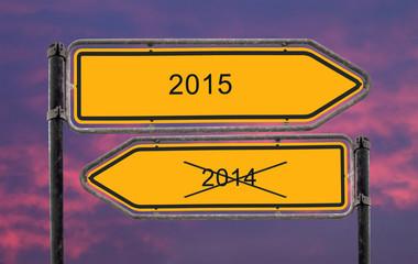Strassenschild 22 - 2015