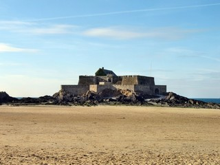Il Fort National a Saint Malo