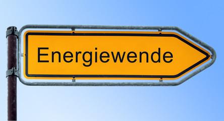 Strassenschild 6 - Energiewende