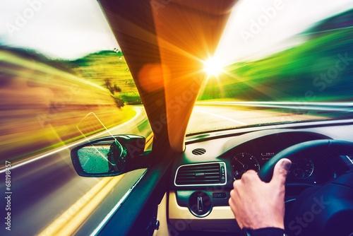 Zdjęcia na płótnie, fototapety, obrazy : Scenic Road Drive