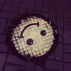 smile on the street