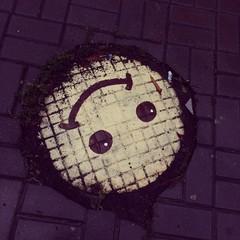 smile on the street