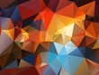 multicolor abstract geometric background  stained-glass window