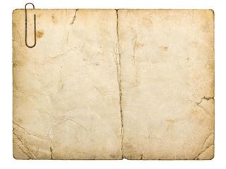 old paperboard card