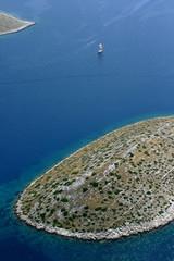 National park Kornati, Adriatic sea in Croatia