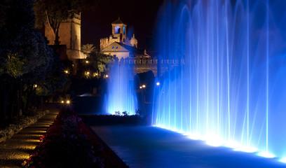 Fuente Alcázar de los Reyes Cristianos de Córdoba
