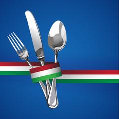 Italian Restaurant Catering Gastroservice Logo
