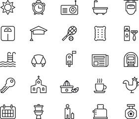 Good Morning icons