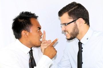 Dispute entre salariés