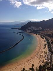 Playa Las Teresitas en Tenerife